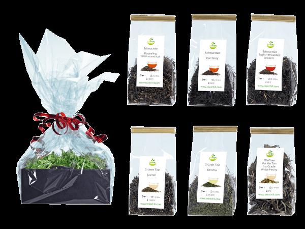 Tee Geschenkset Premium World Selection in Beutel