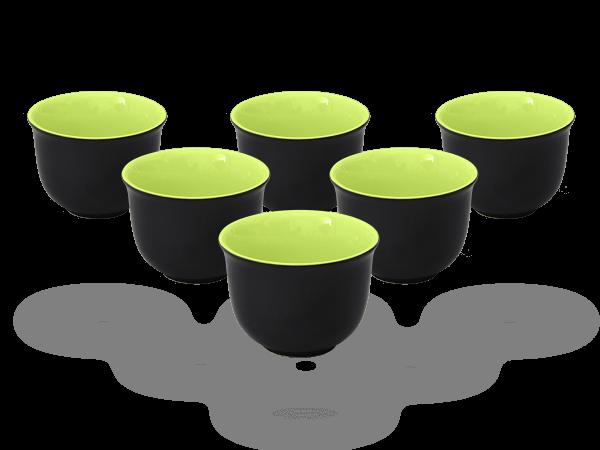 Teecups Nelly 6tlg. 120ml grün