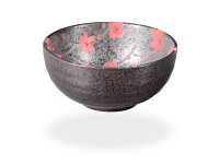 Matcha-Schale anthrazit-rot