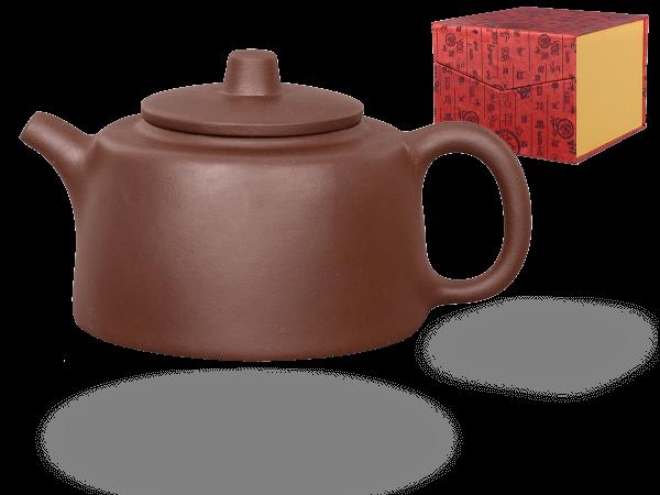Chinesische Teekanne Ton Yiwu, 350ml, in Geschenkbox