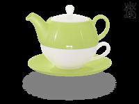 Tea for one, Lena 500 ml, Crystal Bone China, grün