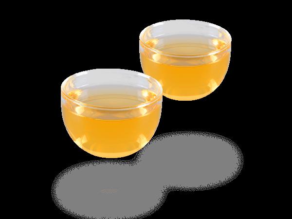 Japanische Teecups Glas glänzend, 120ml