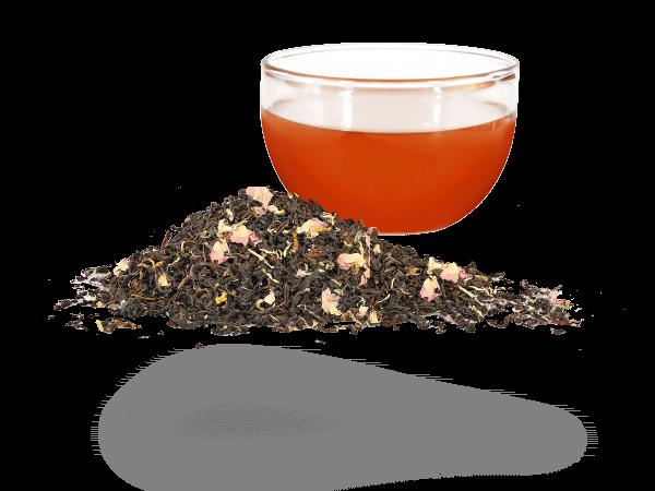 Schwarztee, Pfirsich aromatisiert
